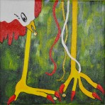 Fowl Feet (Green Background)