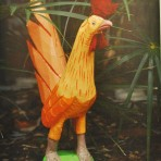 Orange Rooster