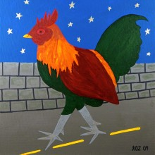 Koz - Starring Rooster 4 x 4